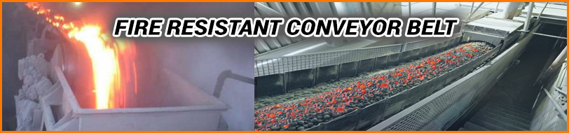 Fire Resistant Conveyor Belt Manufacturer