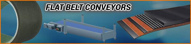 Flat Belt Conveyor, Flat Belt Conveyor Manufacturer