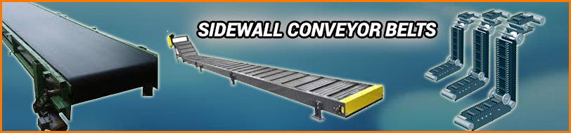 Sidewall Conveyor Belt, Corrugated Sidewall Conveyor Belts